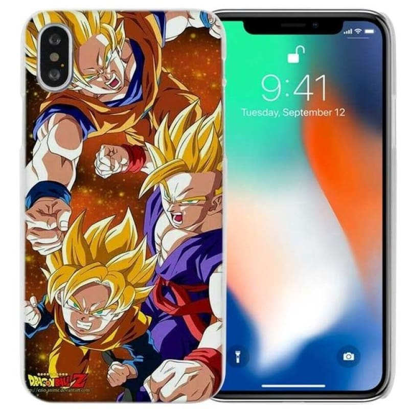 Goku Dragon Ball  iPhone X 6 6s 7 8 Plus 4 4s 5 5s SE 5c