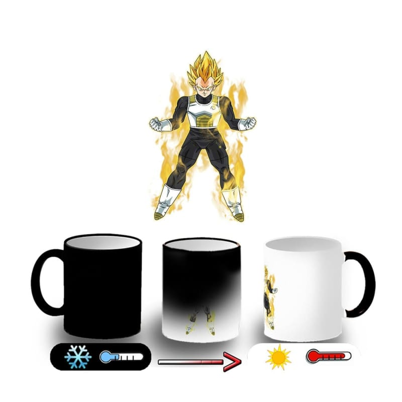 Magic Mug Becher Dragon Ball Z Vegeta Ssj