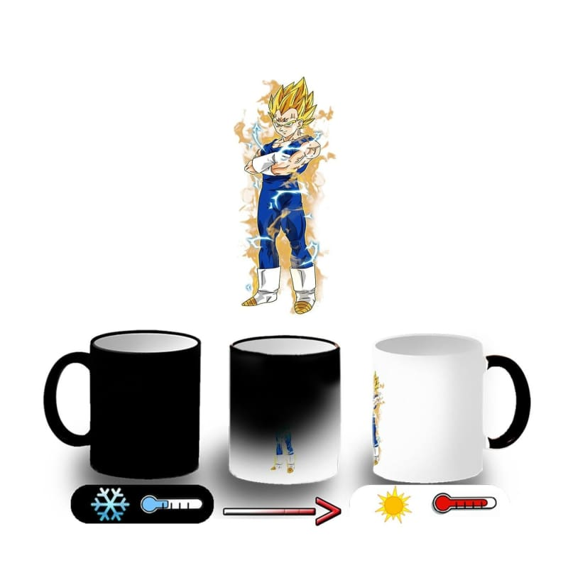 Magic Mug Dbz Dragon Ball Z Majin Vegeta