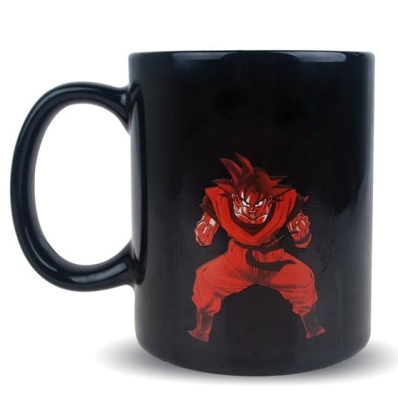 Magic Mug Dragon Ball Z Son Goku Dbz Super Saiyan Coffee
