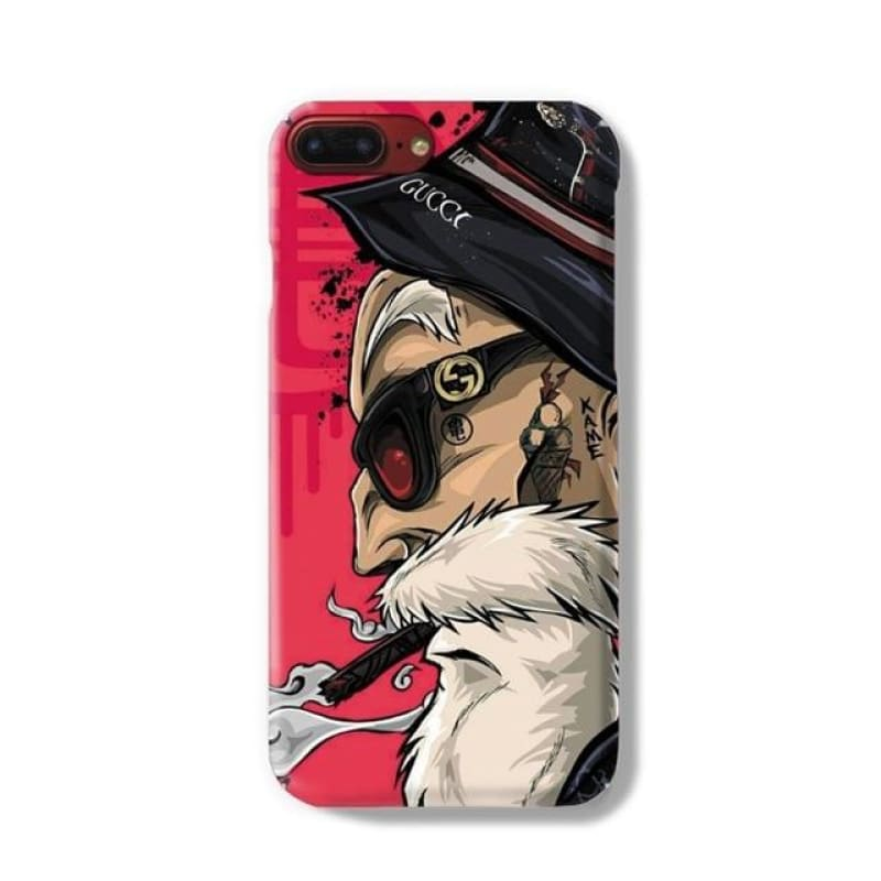 Muten-Roshi Master Kame iPhone 6 6S 7 8 Plus X 10