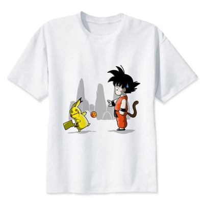 Son Goku Air Dragon Ball Z T-Shirt - 7305 / S