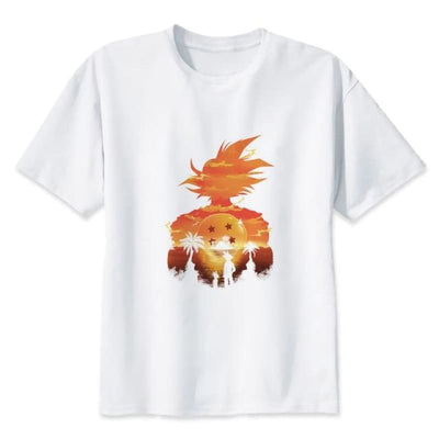Son Goku Air Dragon Ball Z T-Shirt - 7315 / S