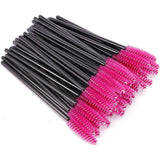 Disposable Mascara Spoolie Wand Brush Hot Pink NZ