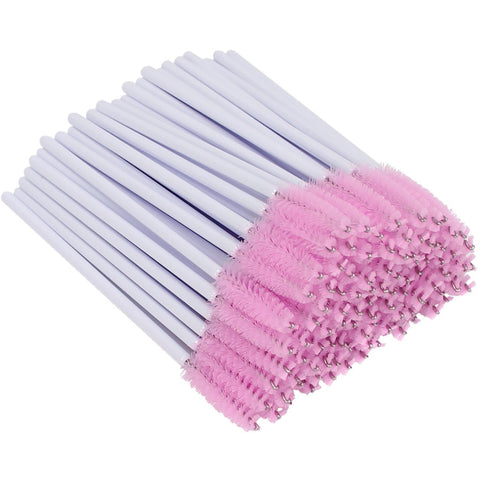 Disposable Mascara Spoolie Wand Brush Pink NZ