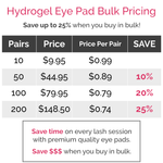 Gel Under Eye Pads Bulk Wholesale Pricing Supplier NZ