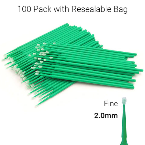 Microbrush Disposable Micro Brush Applicators NZ - Green