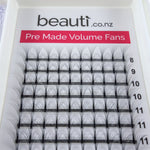 Volume Lash Trays Wholesale Website NZ - D Curl