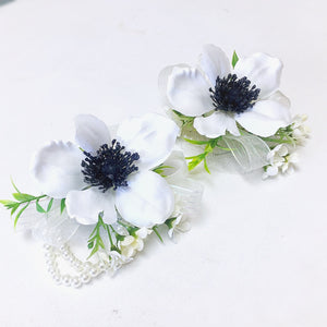 Anemone Corsages & Boutonnieres