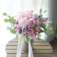 Load image into Gallery viewer, Blush and Lavender Bouquet