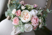 Load image into Gallery viewer, Cream & Blush Wedding Bouquet