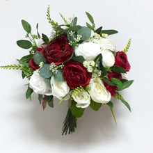 Load image into Gallery viewer, Burgundy & White Wedding