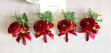Load image into Gallery viewer, Red Wedding Bouquet