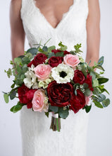 Load image into Gallery viewer, Burgundy & Blush with Anemones