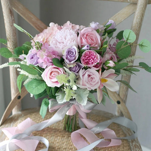 Blush and Lavender Bouquet