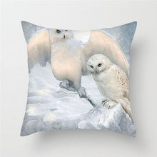 Load image into Gallery viewer, Stork + Baby Print Cushion Cover