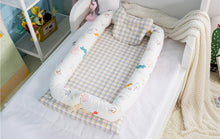 Load image into Gallery viewer, Portable Cotton Cradle Baby Bassinet (foldable)