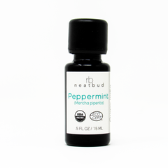 neatbud || organic peppermint essential oil