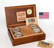 Medium Amish CannBisDor Humidor by American Chest - Crown Humidors