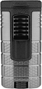Xikar Tactical Triple Flame Lighter - Crown Humidors