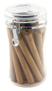 Quality Importers 25 Ct Acrylic Cigar Jar - Crown Humidors