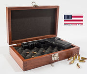 Single Pistol Gun Chest by American Chest - Crown Humidors