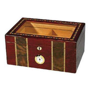 Quality Importers Pompeii Humidor - 100 Cigar ct - Crown Humidors