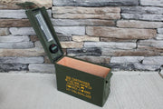 The 30 Ammo Can Humidor by Ammodor - 25 Cigar ct - Crown Humidors