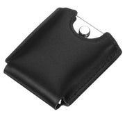 Visol Black Felt With Leather Exterior Pouch - Crown Humidors