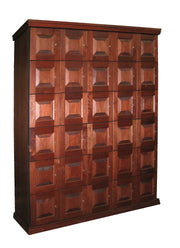 30 Unit Cigar Locker by USA Made - Crown Humidors