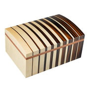 Gurkha Art Deco Humidor - Dome 75 Cigar Capacity - Crown Humidors