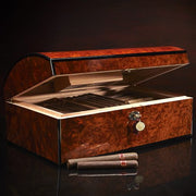 Daniel Marshall 20th Ann. Treasure Chest Humidor - 150 Cigar ct - Crown Humidors