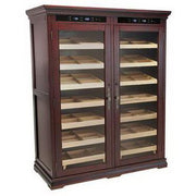 The Reagan 4000 Electric Cabinet Humidor by Prestige Import Group - 4000 Cigar ct - Crown Humidors