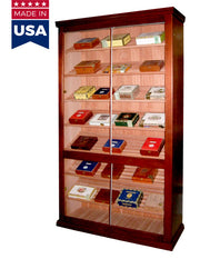 E84 Genuine USA made Commercial - Retail Cabinet Humidor - 4000 Cigar ct - Crown Humidors
