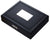 Visol Drako Black Travel Cigar Humidor - Holds 19 Cigars - Crown Humidors