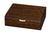 Visol Study Ironwood Finish Humidor - Holds 25 Cigars