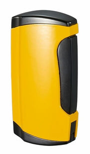Visol Wilson Yellow Double Torch Cigar Lighter - Crown Humidors