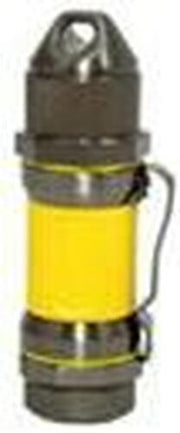 Visol Storm Gunmetal / Yellow High Altitude Windproof Lighter - Crown Humidors