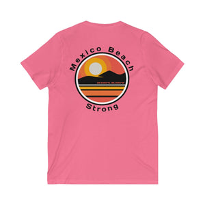 Mexico Beach Strong v.6 V-Neck T-Shirt