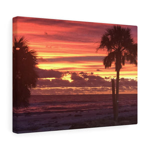 Mexico Beach Sunset Canvas
