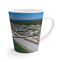 Load image into Gallery viewer, Mexico Beach Pier Latte Mug