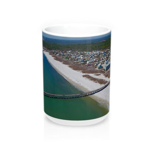 Mexico Beach PIer Coffee Mug - 15oz