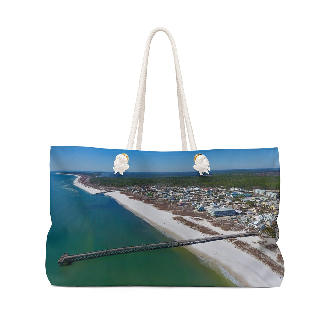 Mexico Beach Pier Weekender Bag