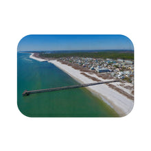 Load image into Gallery viewer, Mexico Beach Pier Bath Mat