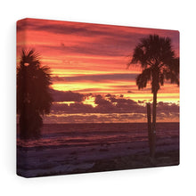 Load image into Gallery viewer, Mexico Beach Sunset Canvas