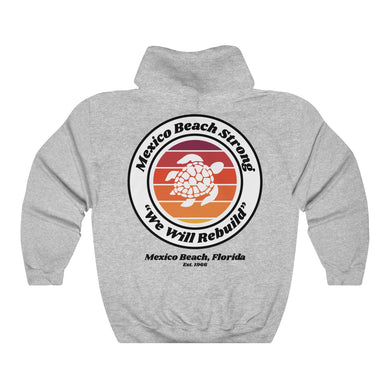 Mexico Beach Strong v.3 - Turtle Hoodie