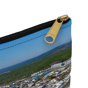Mexico Beach Pier Accessory Pouch
