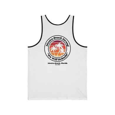 Mexico Beach Strong v.3 - Palm Tree Tank (Premium Colors)