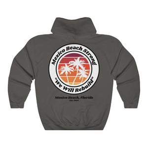 Mexico Beach Strong v.3 - Palm Tree Hoodie