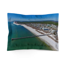 Load image into Gallery viewer, Mexico Beach Pier Microfiber Pillow Sham